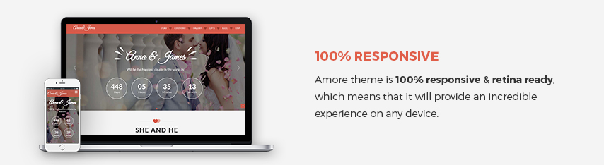 Amore WordPress Theme